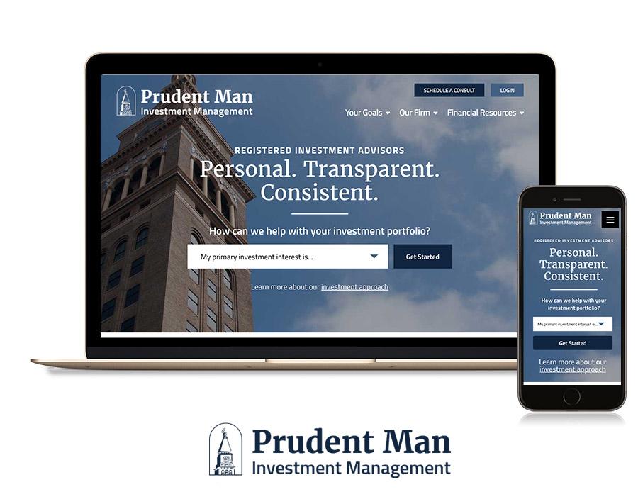 investment banker website design