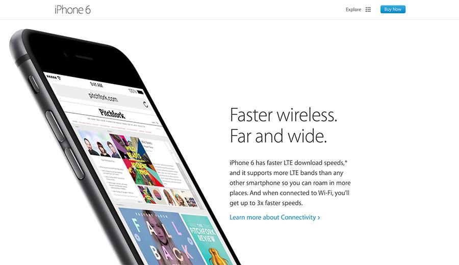apple best website designs