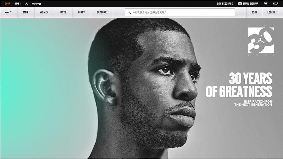 nike best website designs