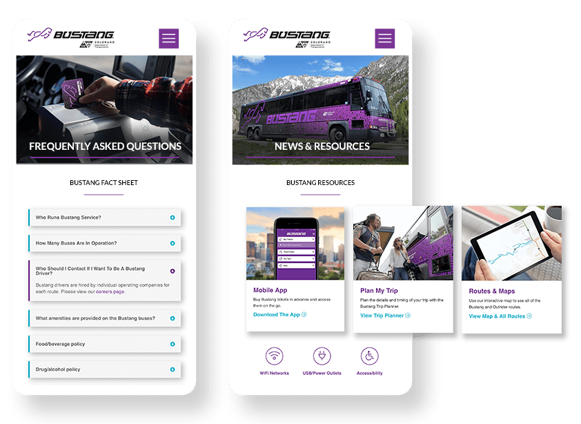 Bustang Mobile App Design