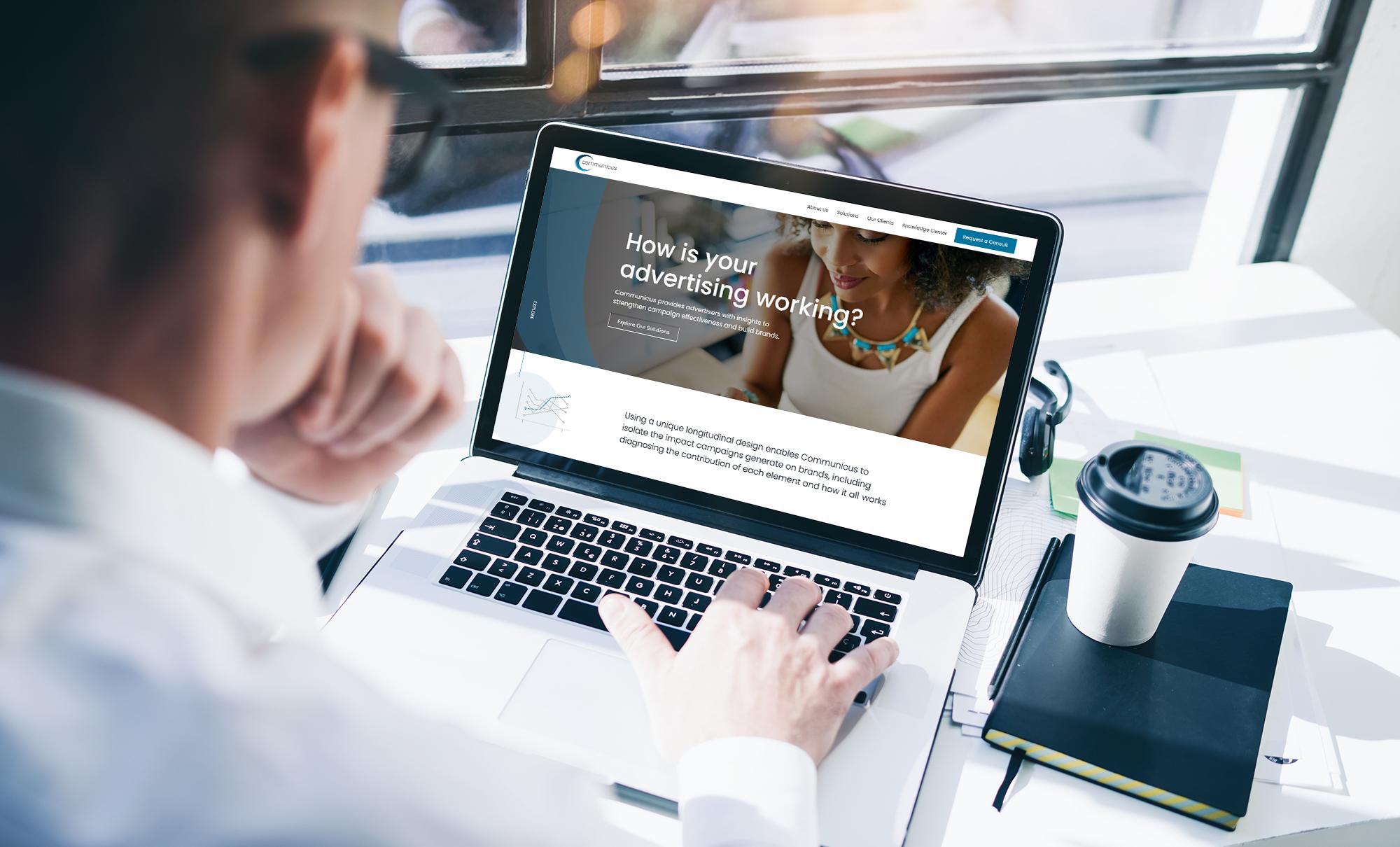 Communicus B2B Website Design