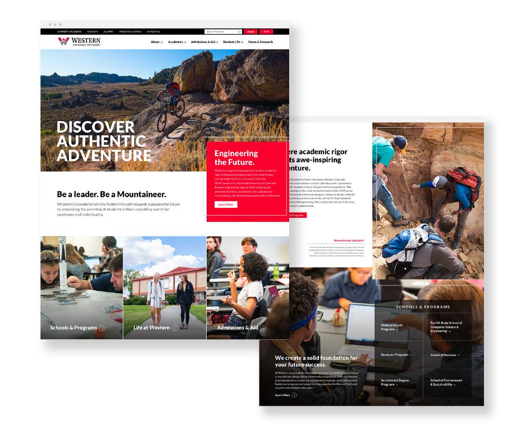 western website design